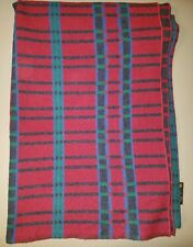 Vintage Pearce Woolrich Wool Blanket Indian Pattern 84X58 Made in the USA EUC