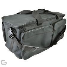 Cajas, bastidores y bolsas negros para equipos de DJ y espectáculos Multiusos