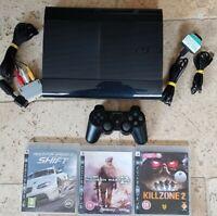 PS3 Super Slim 500GB Console Bundle + 3 Great Games
