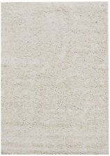 New Note Ivory Soft Shag Rug Shaggy Rug Floor Rug 240 x 330 cm Free Delivery