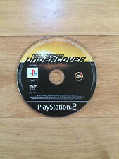 Need for speed: undercover pour PS2 * disque seulement *