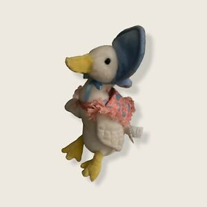 "Gund Peter Rabbit Beatrix Potter Jemima Puddle Duck With Shawl Plush 10"" 2015"