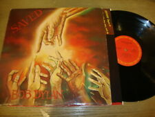 Bob Dylan - Saved - LP Record   VG+ VG