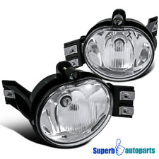 Dodge 02-08 Ram 1500/2500/3500 04-06 Durango Clear Bumper Fog Lights+Switch Kit