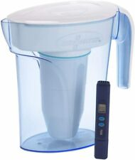 Zero Water 6 Cup Water Filter Pitcher With Free Quality Meter, Nsf Certified