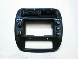 1996 Ford Explorer Dash Radio Climate Control Trim Bezel with Vents
