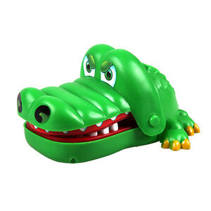 Crocodile Mouth Dentist Bite Finger Game Fun Playing Toy Kids Toy  P1 P4