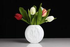 Kaiser Porzellan Vase Relief M.Frey 0641 Baum Dekor Rinde