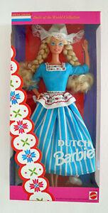 DUTCH BARBIE Dolls of the World #11104  Mattel 1993 NRFB Special Edition