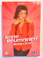 DVD COMIQUE / ANNE ROUMANOFF - ANNE A 20 ANS / COFFRET 2 DVD