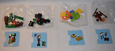 Lego 60099 Advent City 2015 LOT of 4 Sealed Hot Chocolate Clock Gifts Campfire