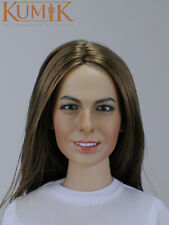 "1/6 Scale Female Head Sculpt KUMIK 16-32F/ 12"" Hot Sideshow Toys TTL HT Body"