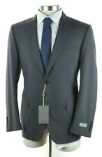 $2195 CANALI 1934 Grey Microcheck Year Round Wool Suit Classic Fit 40 R (50 EU)