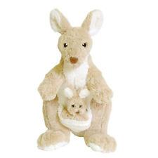 Dinki Di Cuddles Beige Kangaroo Soft Animal Plush Toy 32cm