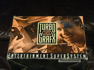 TurboGrafx-16 Console In Original Box With Keith Courage and Bonk's Adventure
