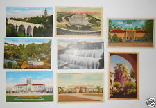 LOT OF 8 SAN DIEGO CA CALIFORNIA  VINTAGE POSTCARDS