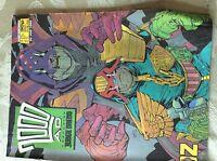 A3 comic 2000 ad judge dredd prog 559 january 30th 1988