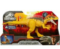 Jurassic World Sound Strike Primal Attack Dino Sound Cryolophosaurus RARE! New