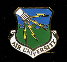 AIR UNIVERSITY US AIR FORCE LAPEL HAT PIN USAF PILOT OFFICER TRAINING GIFT WOW