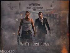 WHITE HOUSE DOWN QUAD POSTER CHANNING TATUM JAMIE FOXX ROLAND EMMERICH 2013