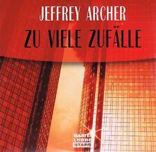 HÖRBUCH-CD - Zu viele Zufälle von Jeffrey Archer (Gelesen von Dana Geissler)