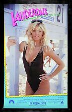 LAUDERDALE *CineMasterpieces ORIGINAL JANINE LINDEMULDER VIDEO MOVIE POSTER 1989