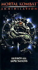 Mortal Kombat - Annihilation (VHS, 1998)