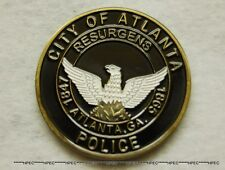 ATLANTA POLICE DEPARTMENT Challenge Coin ATL Georgia Officer Badge Detective