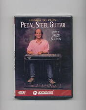 LEARN TO PLAY PEDAL STEEL GUITAR - BRUCE BOUTON NEW DVD