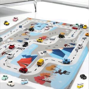 City Road PlayMat Kids Childrens Car Road Carpet Rug Toy mat Waterproof 1.3m*1m
