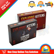 OZ Exploding Kittens Board Card Game - ORIGINAL & NSFW Edition - Aussie Version