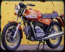 Ducati 860Gts 74 1 A4 Metal Sign Motorbike Vintage Aged