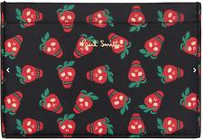 Paul Smith Wallet - BNWT Mainline Black Strawberry Skull Card Holder Case