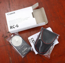 CANON RC-6 WIRELESS REMOTE CONTROLLER FOR XT/Xti, Xsi, T1i AND T2i (205117)