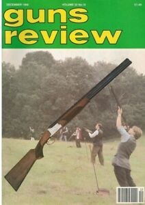 GUNS REVIEW December 1992 - Browning B325, AK-74, Walther, Classic Revolver