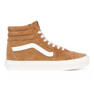 Vans Pig Suede SK8-Hi Skate High Sneakers Shoes Honey Gold VN0A4BV618Z US 4-13