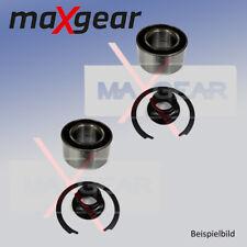 2x Radlagersatz für Radaufhängung Hinterachse MAXGEAR 33-0508