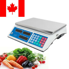【CA】Digital Weight Scale 30KG Price Computing Food Meat Scale Produce Indutrial