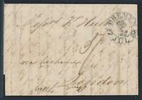 Bremen, Schlüsselstempel auf Brief 1838 mit Inhalt nach London