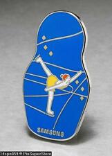 OLYMPIC PINS BADGE 2014 SOCHI RUSSIA SAMSUNG MATRYOSHKA DOLL FIGURE SKATING