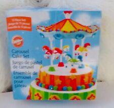 Wilton Carousel Cake 15 Piece Set Decorating Birthday /New