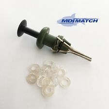 MDI Match Fishing Bait Pellet Bander with 25 Silicone Bands