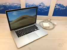 MacBook Pro Apple Laptop Retina Screen SSD Options Available