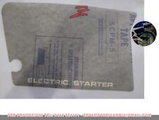 adesivo decalco fianchetto sinistro originale Honda XL 125 200 R 87129-KG1-920