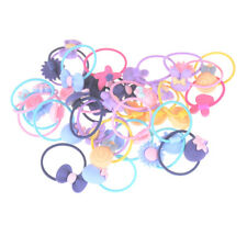 20pcs Mixed Baby Hair Ropes Girls Hair Accessories Children Elastic Hair Bands-