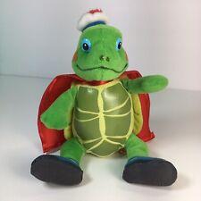 "NICK Jr. Wonder Pets Beanie Baby TUCK 6.5""Long Plush Stuffed Toy TY Caped Turtle"