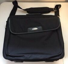 "15"" Targus Laptop Black Padded Carry Bag with Strap, Model# OCN1-04"