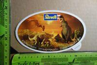 Alter Aufkleber Modellbau Bausätze Spielwaren REVELL Dinosaurier