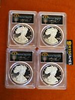 2019 W PROOF SILVER EAGLE PCGS PR70 TORCH CLEVELAND FIRST DAY ISSUE LOCATION SET