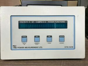 Power Measurement 3710ACM